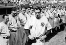 Gehrig - baseball player who died of amyotrophic lateral sclerosis (1903-1941)