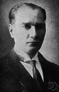 Kemal Ataturk - Turkish statesman who abolished the caliphate and founded Turkey as a modern secular state (1881-1938)