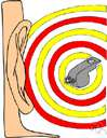 monaural - relating to or having or hearing with only one ear