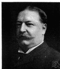 Taft - 27th President of the United States and later chief justice of the United States Supreme Court (1857-1930)