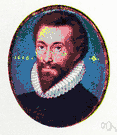 John Donne - English clergyman and metaphysical poet celebrated as a preacher (1572-1631)