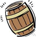 barrel - any of various units of capacity