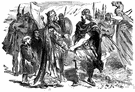 Edmund II - king of the English who led resistance to Canute but was defeated and forced to divide the kingdom with Canute (980-1016)