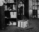 lumber room - a storeroom in a house where odds and ends can be stored (especially furniture)