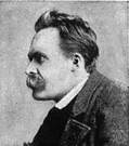 Nietzsche - influential German philosopher remembered for his concept of the superman and for his rejection of Christian values