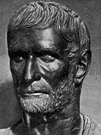 Brutus - statesman of ancient Rome who (with Cassius) led a conspiracy to assassinate Julius Caesar (85-42 BC)