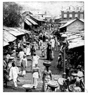 slave market - a marketplace where slaves were auctioned off (especially in the southern United States before the American Civil War)
