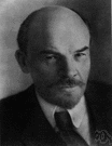 Vladimir Ilyich Lenin - Russian founder of the Bolsheviks and leader of the Russian Revolution and first head of the USSR (1870-1924)