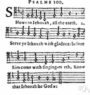 hymn - a song of praise (to God or to a saint or to a nation)