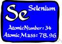 atomic number 34 - a toxic nonmetallic element related to sulfur and tellurium