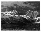 St. Elias Range - a range of mountains between Alaska and the Yukon territory