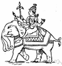 Indra - chief Hindu god of the Rig-Veda