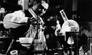 Carver - United States botanist and agricultural chemist who developed many uses for peanuts and soy beans and sweet potatoes (1864-1943)