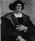 Christopher Columbus - Italian navigator who discovered the New World in the service of Spain while looking for a route to China (1451-1506)