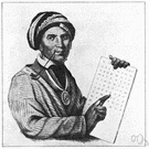 Sequoya - Cherokee who created a notation for writing the Cherokee language (1770-1843)