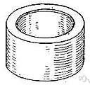 bearing brass - a brass bushing or a lining for a bearing