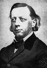 Beecher - United States clergyman who was a leader for the abolition of slavery (1813-1887)