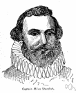 Miles Standish - English colonist in America