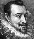 Edmund Spenser - English poet who wrote an allegorical romance celebrating Elizabeth I in the Spenserian stanza (1552-1599)