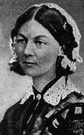 Lady with the Lamp - English nurse remembered for her work during the Crimean War (1820-1910)