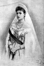 tsarina - the wife or widow of a czar