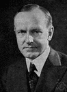 President Coolidge - elected vice president and succeeded as 30th President of the United States when Harding died in 1923 (1872-1933)