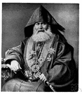 patriarch - title for the heads of the Eastern Orthodox Churches (in Istanbul and Alexandria and Moscow and Jerusalem)
