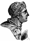 Demetrius Poliorcetes - son of Antigonus Cyclops and king of Macedonia