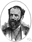 Jay Gould - United States financier who gained control of the Erie Canal and who caused a financial panic in 1869 when he attempted to corner the gold market (1836-1892)