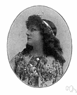 Bernhardt - French actress (1844-1923)