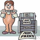 printing concern - a company that does commercial printing