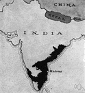 Tamil Nadu - a state in southeastern India on the Bay of Bengal (south of Andhra Pradesh)