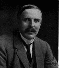 Ernest Rutherford - British physicist (born in New Zealand) who discovered the atomic nucleus and proposed a nuclear model of the atom (1871-1937)